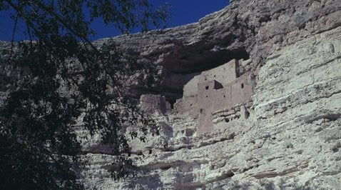 Montezuma's Castle an ancient attraction
