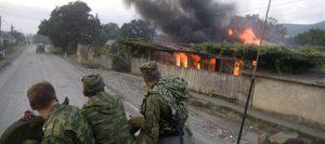 SLIDESHOW: Russian troops invade Georgia