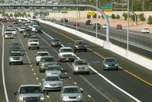 ADOT completes Loop 101 carpool lanes