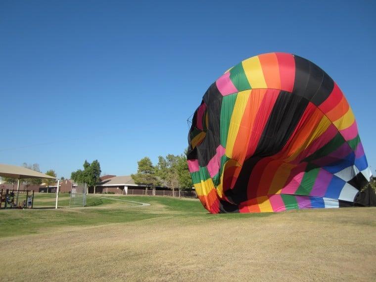 Gilbert balloon ride
