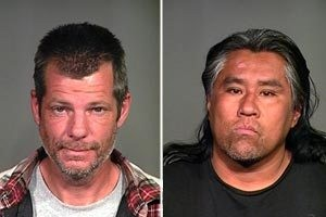 Police arrest transients at site of complex fire