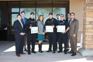 Gilbert Police recognized
