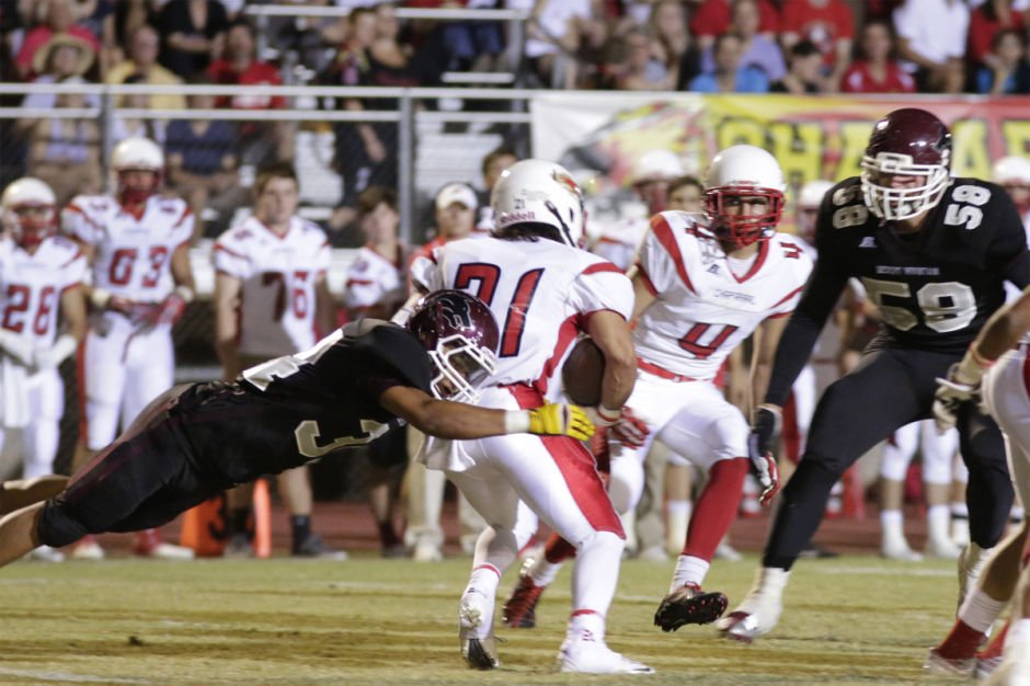 No. 4 Chaparral (Div. II) at Red Mountain (Div. I)...