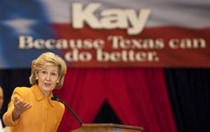 Sen. Hutchison makes run for Texas governor