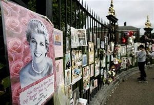 10th anniversary of Diana's death marked