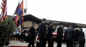 Soldier laid to rest at Mesa City Cemetery