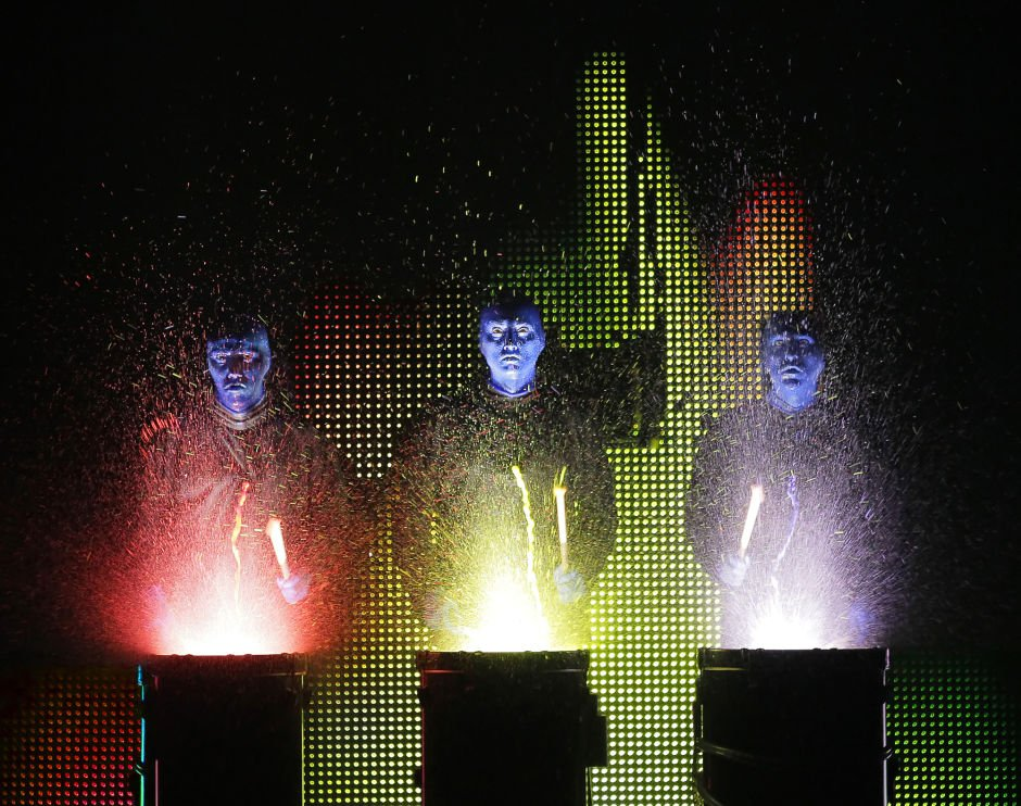 Win now: 4 tix to Blue Man Group at ASU Gammage - East Valley ...