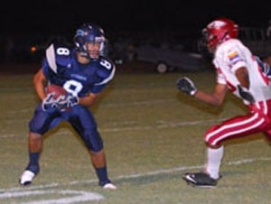 Ironwood scores winning touchdown on opening kickoff