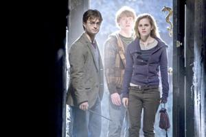 Daniel Radcliff, Rupert Grint, Emma Watson