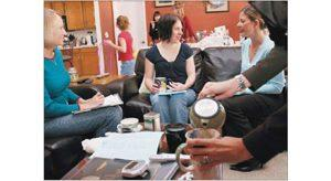 Home sales gatherings put out welcome mat for social bonding