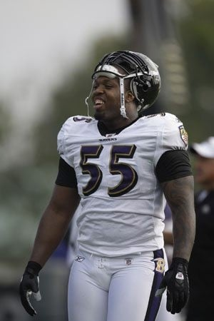 Suggs expects another sack-filled season
