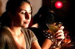 Martinis and manicures help dissolve Monday blues