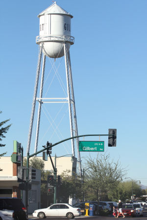 Best of Gilbert 2014 Landmark: Gilbert Water Tower and Original Jail