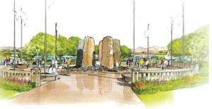 Tempe veterans memorial concept