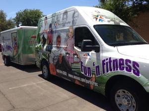 Fun 'n Fitness Van and Trailer