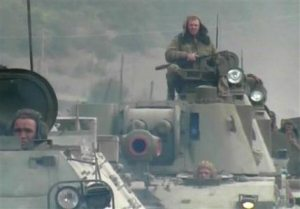 Georgia says Russian aircraft bombed its air bases