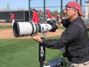 Topps baseball card photographer