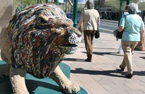 Early voting favors lions in downtown Mesa