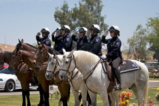 Tempe Police Mounted Unit