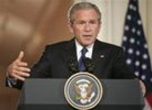 Bush rules out tax hike to fund recovery