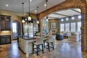 Open floorplan