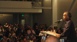 Sharpton invokes spirit of Freedom Riders