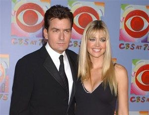 Sheen, Richards continue custody battle