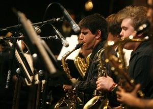 Highland High planning jazz festival