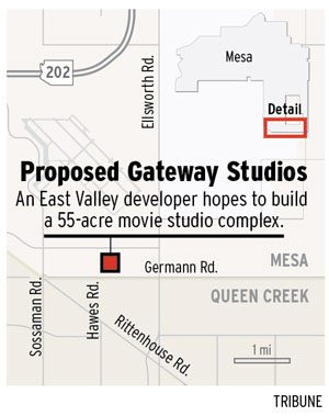 Mesa OKs Gateway-area movie studio