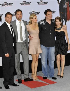 Pitt, Tarantino's 'Basterds' earns glorious $37.6M