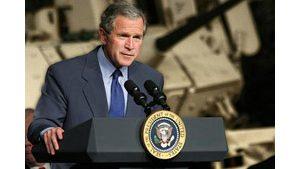 Bush pushes $500 billion tax cut plan in California