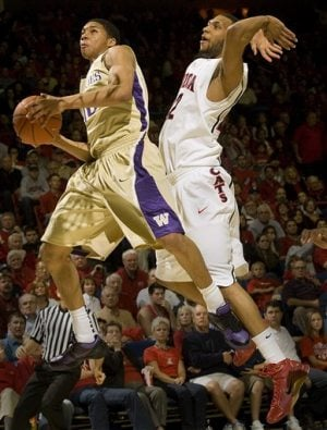 Horne leads Arizona over No. 24 Washington