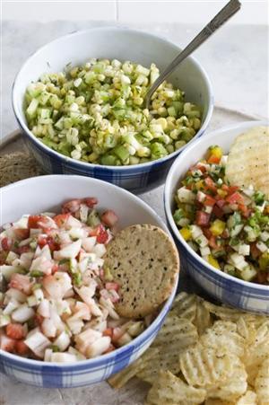 Food-Summer Salsas
