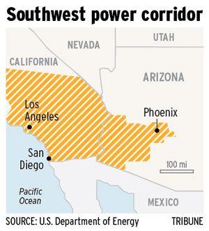 U.S. designates Ariz.-Calif. energy corridor