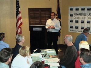 Sal DiCiccio intends to make the city more business friendly