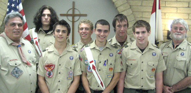 Eagle Scout honor