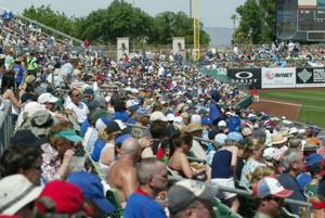 Cubs last Spring Training game at Hohokam Stadium