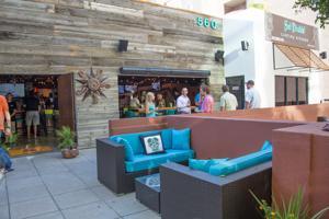 The patio at Sol Diablo Cantina