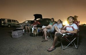 Night pictures: Why people love the few remaining drive-ins