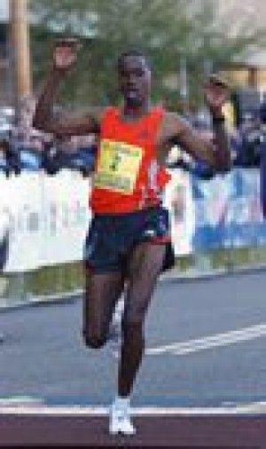 Ethiopians sweep men's, women's marathons