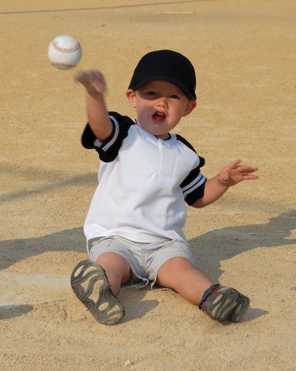 young baseball fan
