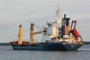 Missing cargo ship found near Cape Verde