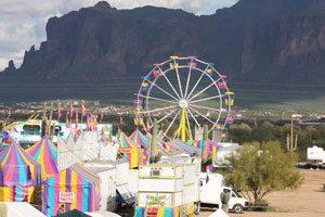 Lost Dutchman rodeo, carnival open in AJ