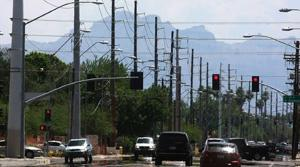 University Drive gets 54 new power poles
