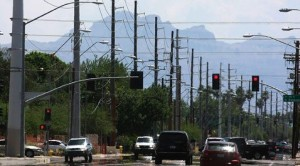 University Drive gets 54 new power poles