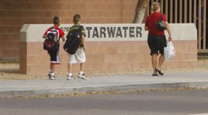 Students return to school after flu closure