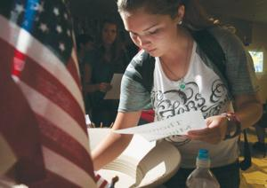 Bowls commemorate 9/11