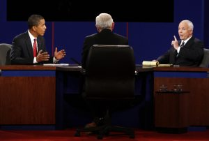 McCain and Obama turn from debates to swing states