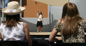 Contestants vie to sing anthem at Tempe event