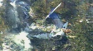 NTSB: Plane didn't dive, but landed flat on house